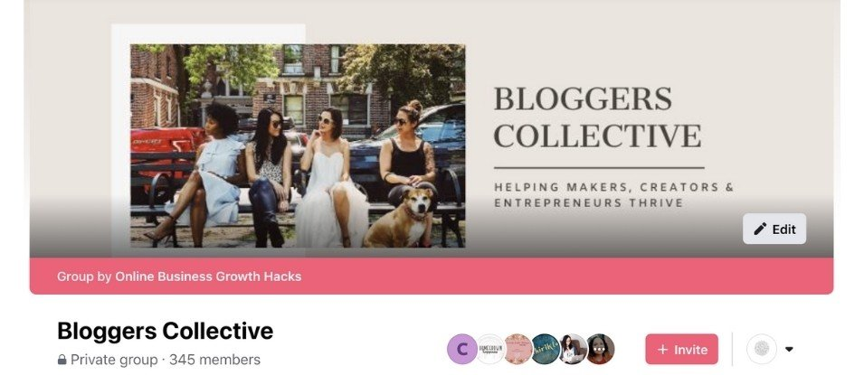 Facebook Group- Bloggers Collective