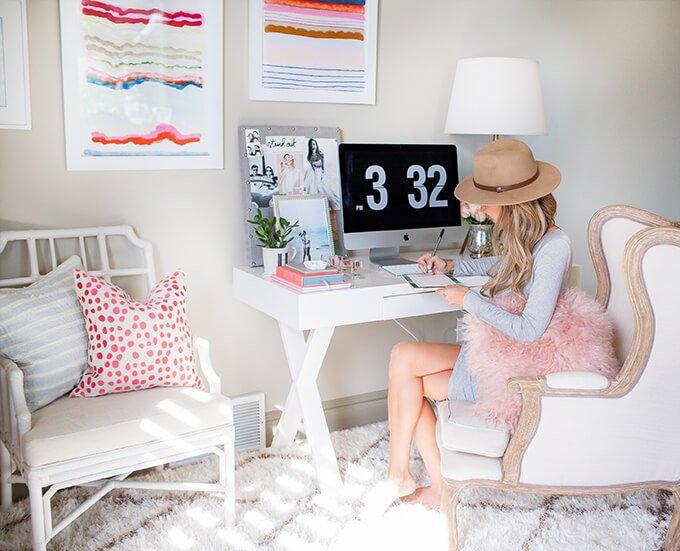 hello fashion home office picture