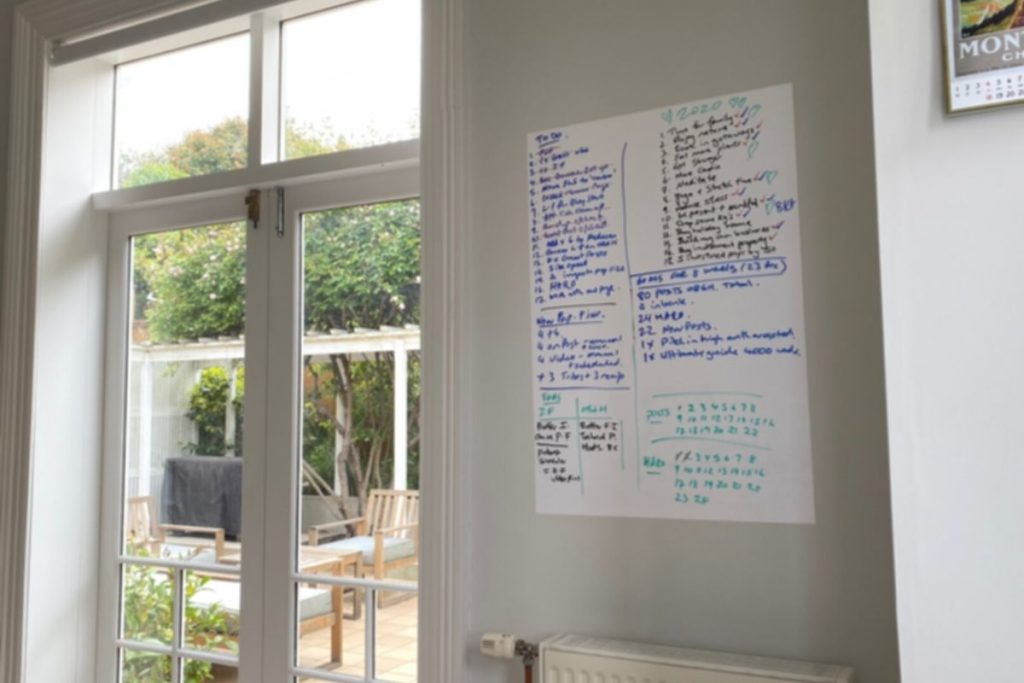 home office dry erase sheets Post It