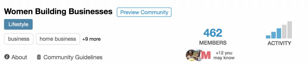 tailwind communities screenshot