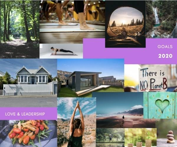 Create your vision board in Canva